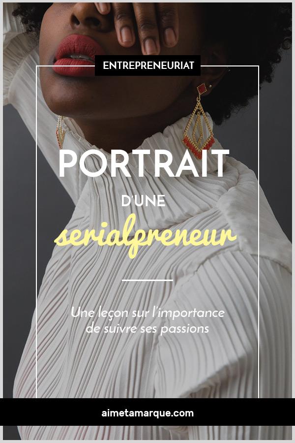 Angélique Marguerite Berthe Diène a compris la nécessité de suivre ses passions pour être heureuse. Portrait d'une serialpreneur altruiste aux multiples chapeaux. #entrepreneuriat #inspiration #businesswoman #serialpreneur
