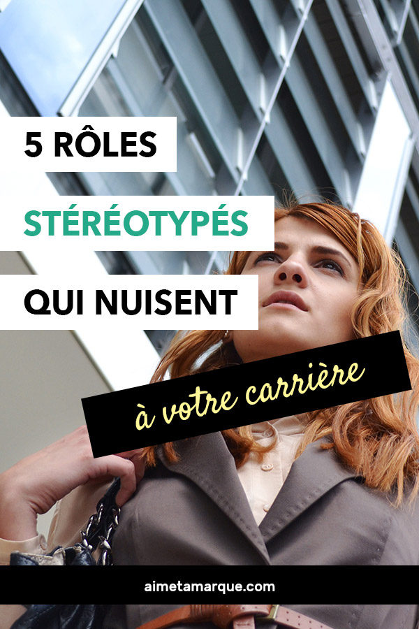 Quels sont donc ces stéréotypes féminins qui nous tiennent captives au travail et qui nous empêchent de nous développer professionnellement? #carrièreprofessionnelle #professionnel #féminisme #bureau #emploi