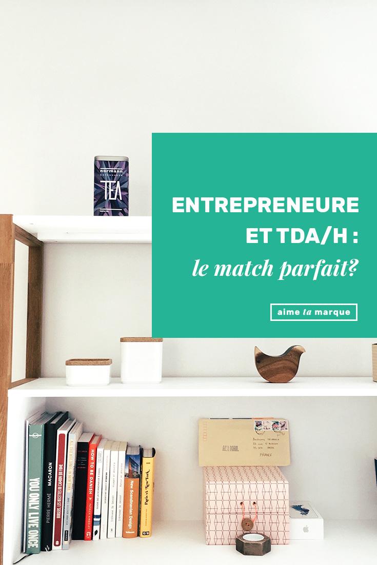 Est-ce qu'entrepreneuriat et TDAH font bon ménage? Beaucoup de créativité et de folie, très peu d'organisation et d'attention. L'accord parfait, vraiment? #tdah #attentiondeficitdisorder #entrepreneur #santémentale
