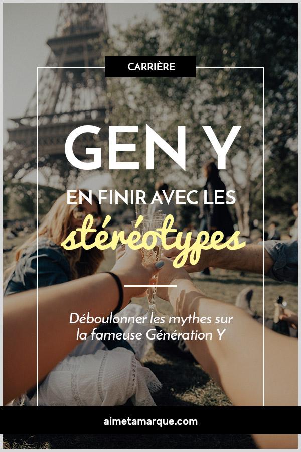 Il est temps d'en finir avec ces stéréotypes sur la génération Y. Déchiffrons le petit (maintenant devenu grand) Y afin de mieux le comprendre! #genY #millenials #milléniaux #génération