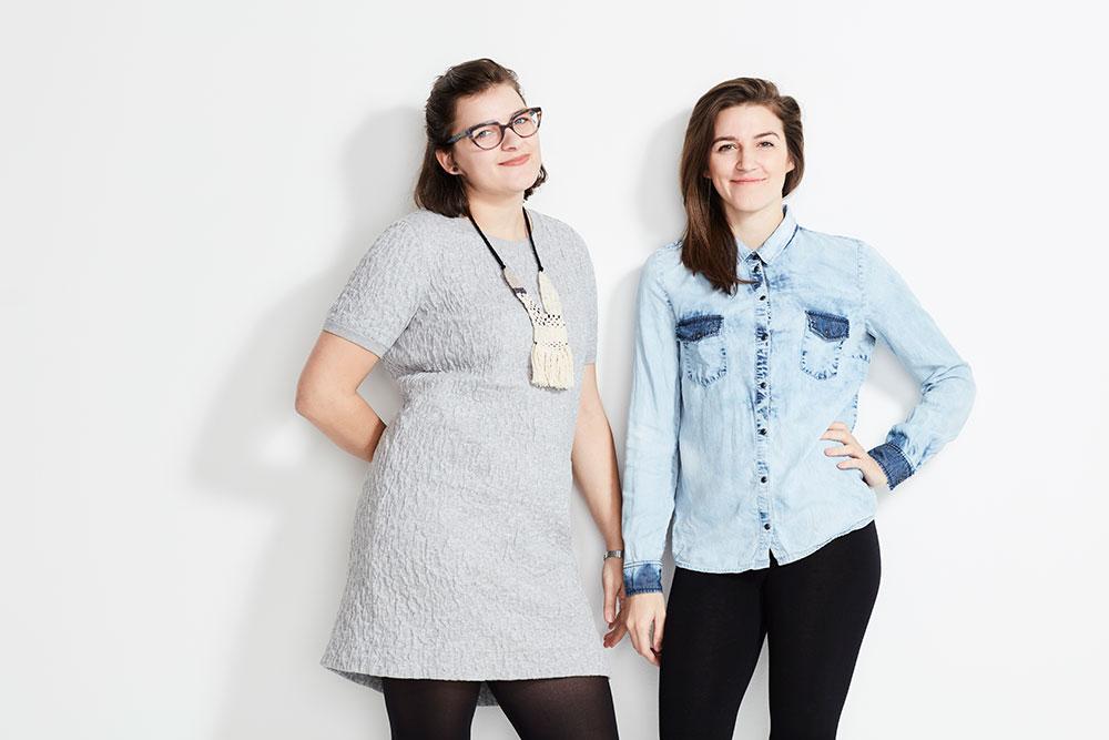 Pénélope et Camélia St-Cyr Robitaille de La Fabrik Éco