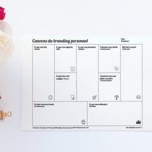 Canevas du branding personnel_produit