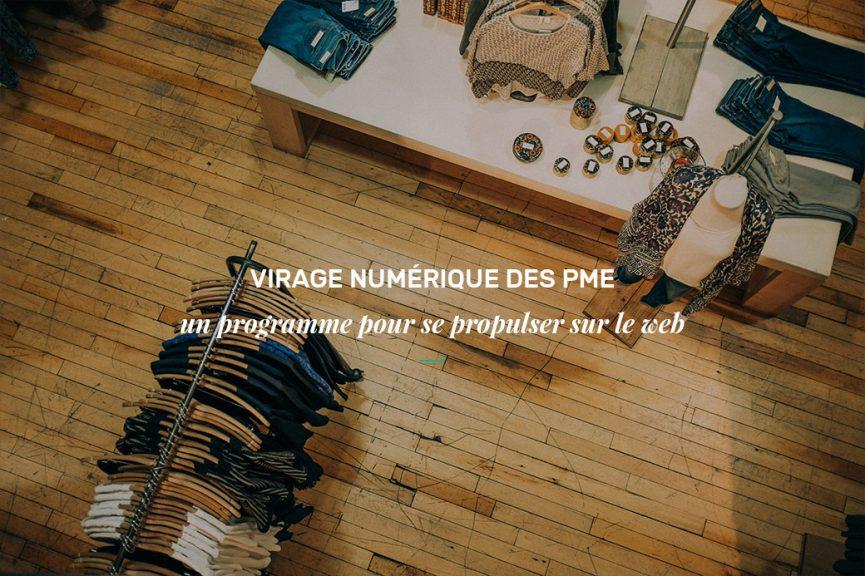 Virage numérique des PME: programme gratuit du CQCD