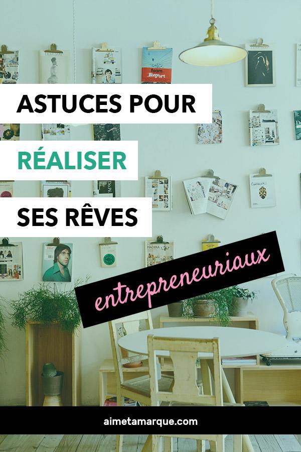 Complètement fous ou plutôt réalistes, les rêves sont une source incroyable de motivation. Quelques trucs pour réaliser ses rêves d'entrepreneuriat. #business #entreprenariat #affaires #motivation
