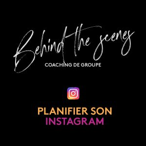 Coaching de groupe Planifier son Instagram (enregistrement)