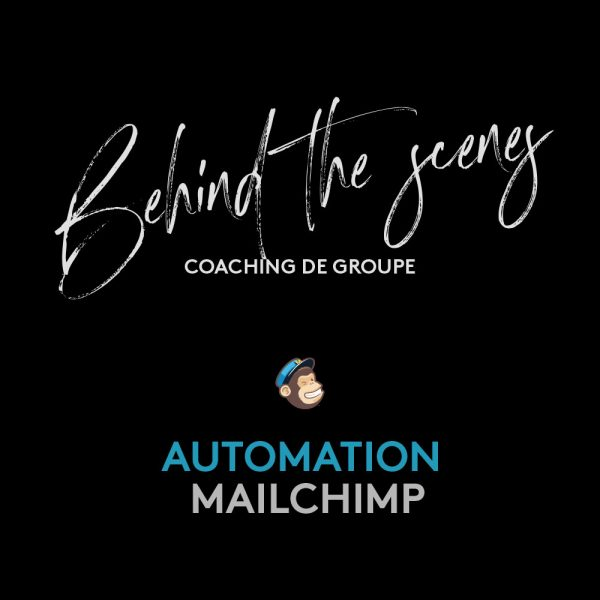 Coaching de groupe Mailchimp Automation