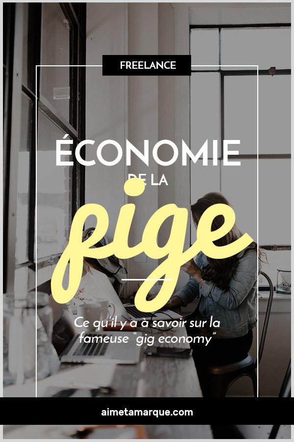 L'économie de la pige (gig economy), ça vous dit quelque chose? Voyons ce que c'est exactement et pourquoi vous devez vous y intéresser en tant que #pigiste, #freelancer ou même #entrepreneur. #gigeconomy