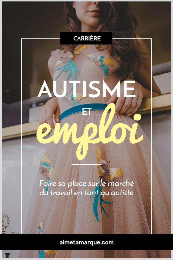 Autisme et emploi. Si la condition que vit une personne autiste doit être prise en compte, il en va de même pour ses capacités et son potentiel. #autisme #autiste #conseilscarrière #neurodiversité