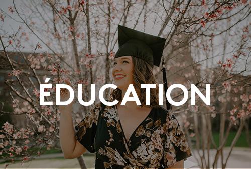 Doctorat, maîtrise, école de la vie? Parlons un peu d'éducation.
