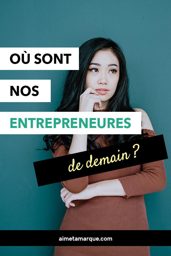 Alors que tout le monde prône encourager l'entrepreneuriat féminin, que faut-il faire pour que les entrepreneures de demain se lancent dans leurs projets? #entreprenariat #féminisme