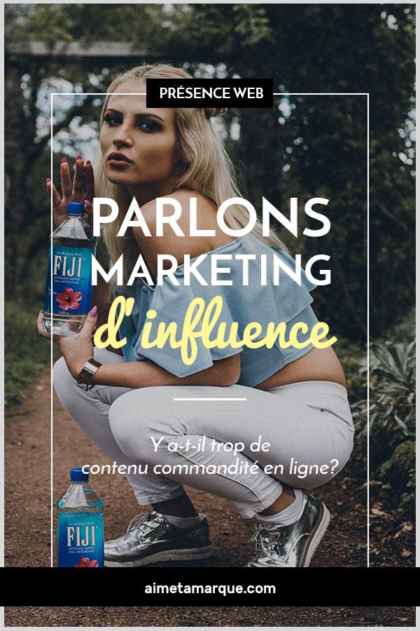 Parlons marketing d'influence... Les #influenceurs sont la nouvelle mode auprès des entreprises de produits et de services. Pas une journée sans que nous ne voyions une publication commandité sur notre fil Instagram ou Facebook. Mais y a-t-il trop de contenu commandité en ligne? La publicité d'influence est-elle saturée sur les réseaux sociaux? Réflexion pour tous les influenceurs établis et à venir.