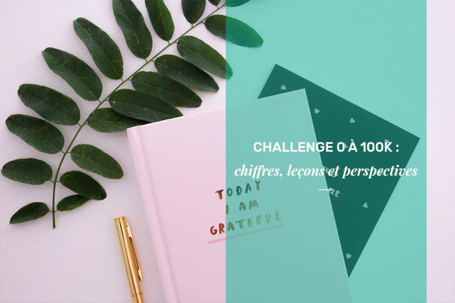 Challenge ) à 100K : les chiffres, les leçons, les perspectives
