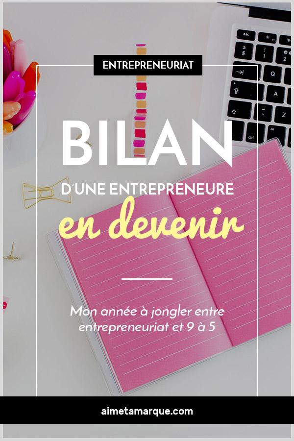 Pas toujours facile de jongler entre 9 à 5 et entreprise en démarrage. Portrait d'une année bien remplie en tant qu'entrepreneure à temps partiel. #salariat #entrepreneuriat #tempspartiel #entrepreneur #girlboss #carrière #démarreruneentreprise