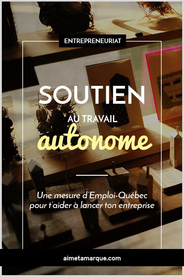 La mesure de soutien au travail autonome (mesure STA) est l'accélérateur qui pourrait te permettre de poursuivre à temps plein ton rêve d'entrepreneuse! #entrepreneuriat #freelance #travailautonome #pige #Québec