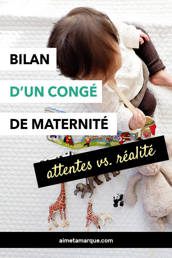 Le congé de maternité en est-il vraiment un? Est-ce vraiment un bon moment pour attaquer nos projets d'écriture ou d'entrepreneuriat? Bilan d'une nouvelle mère qui est passée par là. #maternité #carrière #entrepreneuriat #femmeaufoyer #bébé