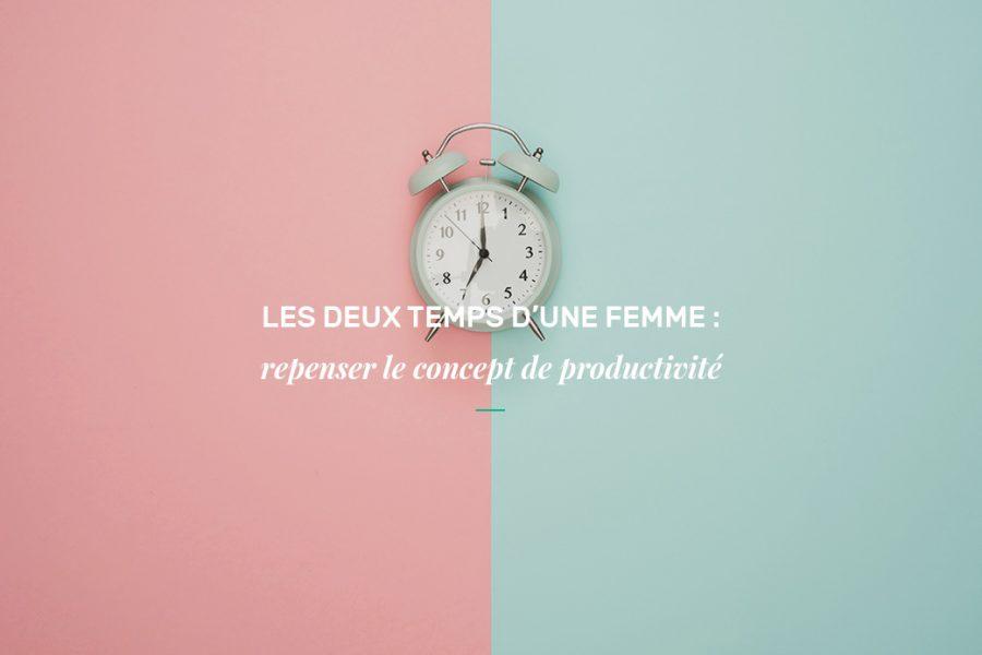 Les deux temps d'une femme : repenser le concept de productivité