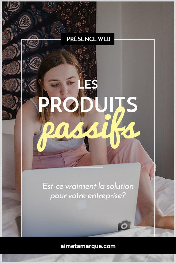 La création de produits passifs fait partie de votre stratégie d'affaires? Et si ce n'était pas la solution la mieux adaptée à votre réalité d'entrepreneur web? #entrepreneuriat #web #passiveincome #revenupassif
