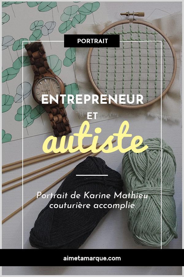 Diagnostiquée autiste de haut niveau, Karine Mathieu, créatrice de l'entreprise La Soeur Mathieu, a accepté de me parler de son parcours. Comme quoi #entrepreneuriat et #neurodiversité font souvent bon ménage! #autisme