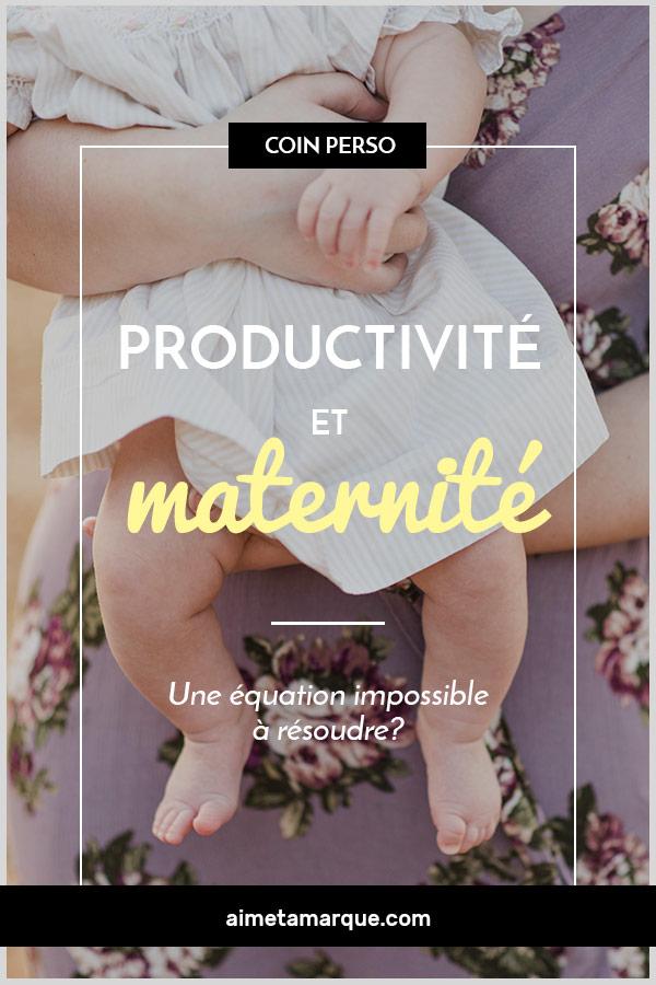 Quand vient le temps de juger de notre relation entre productivité et maternité, que l'on soit entrepreneure, freelancer ou femme de carrière, mieux vaut parfois s'interroger sur un autre rapport important, soit celui que l'on entretient avec la performance. #maternité #productivité #gestiondutemps #carrière