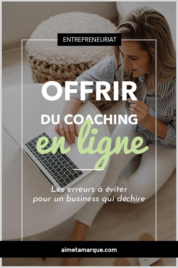Afin de vous aider à rendre votre parcours un moins sinueux, voici cinq erreurs courantes à éviter lorsque l'on offre du coaching en ligne. #marketing #coaching #webtrepreneur #brandingpersonnel
