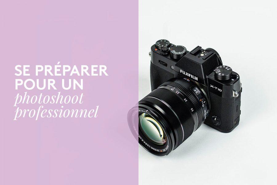 Se préparer à un premier photoshoot professionnel